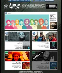 Álbum Virtual - Trama