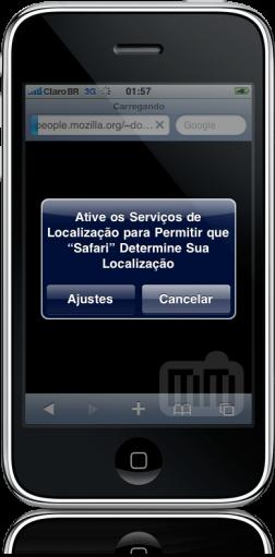 Localização no iPhone OS 3.0