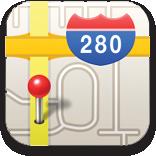 Maps no iPhone OS