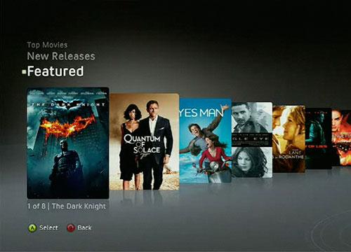 Xbox Zune Videos - 1080p