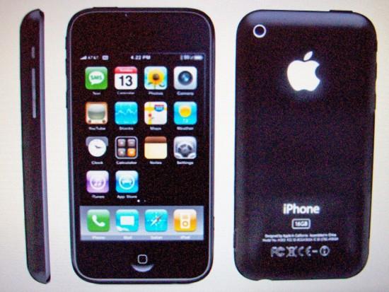 iPhone de terceira geração pelo Gizmodo