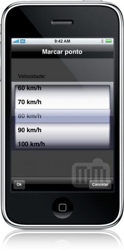 Lince GPS no iPhone