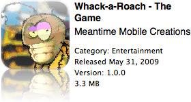 Whack-a-Roach na App Store