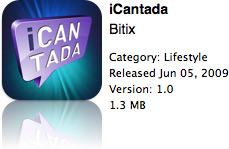 iCantada na App Store