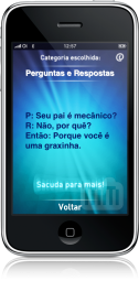 iCantada no iPhone