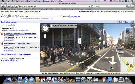 Maps e novo Street View, do Google