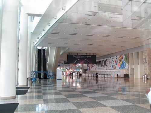 Moscone West pronto para a WWDC