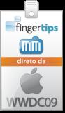 Selo FingerTips e MacMagazine na WWDC '09