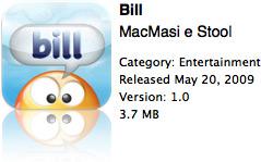 Bill na App Store