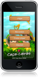 Caça-Letras no iPhone