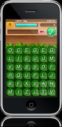 Caça-Letras no iPhone