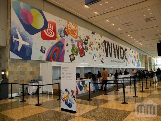 Credenciamento na WWDC '09