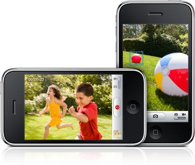 iPhone 3GS com Câmera