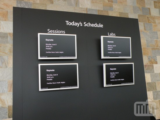 Entrada da WWDC