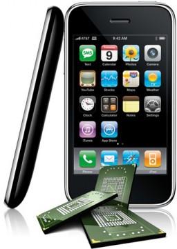 iPhone e memórias NAND flash