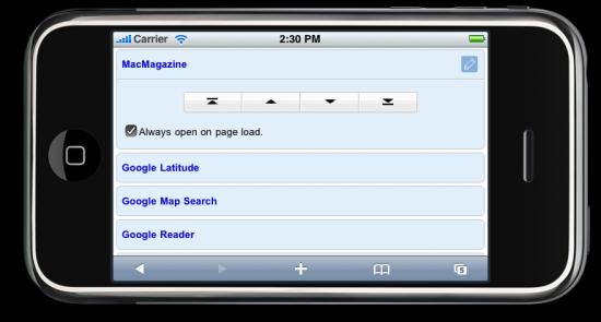 iGoogle mobile