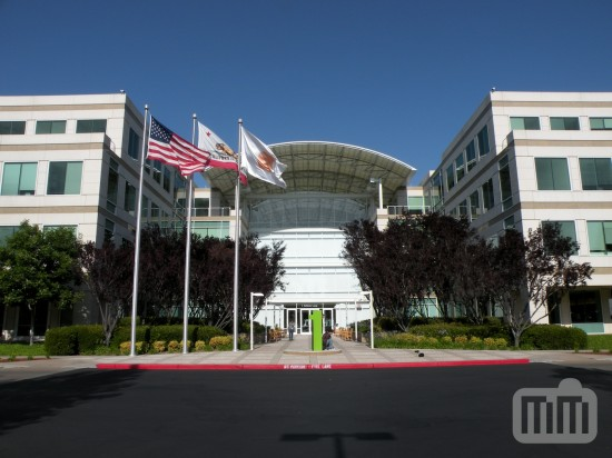 Sede da Apple em 1 Infinite Loop, Cupertino