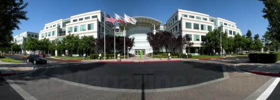 Panorama da Apple em Cupertino