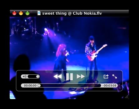 QuickTime X com vídeo Flash