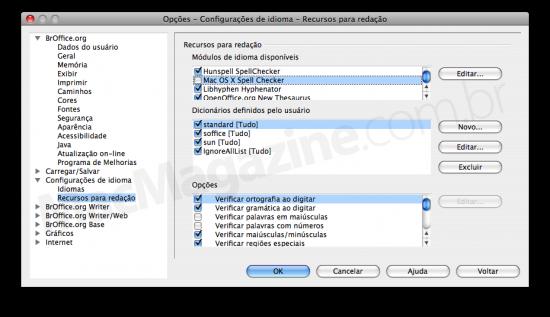 Correção ortográfica no OpenOffice.org