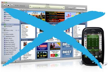 Palm Pre com o iTunes