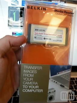Belkin Media Reader ExpressCard Adapter