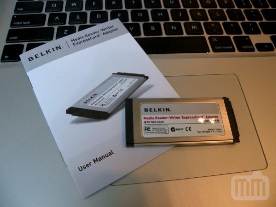 Media Reader ExpressCard Adapter
