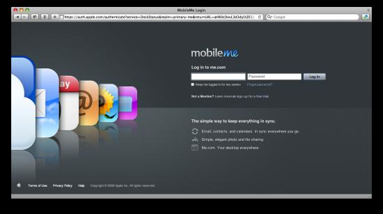 MobileMe News