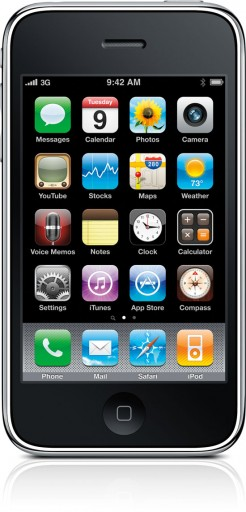 iPhone 3G S de frente