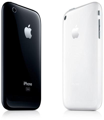 iPhones 3G S preto e branco