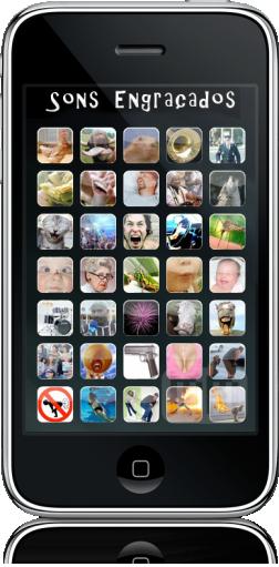 Sons Engraçados no iPhone