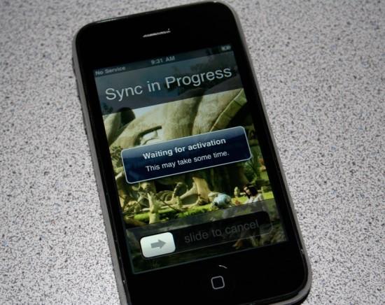 Ativação do iPhone 3GS