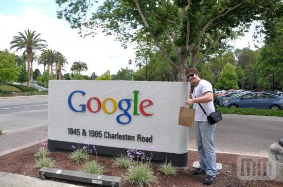 MacMagazine e FingerTips no Googleplex