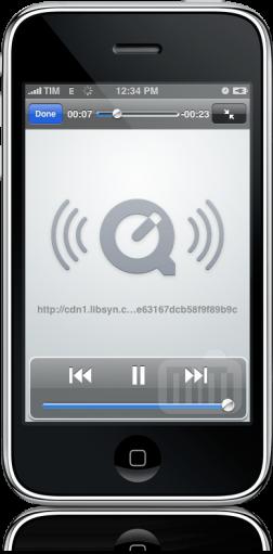Barra de progresso do iPod com problema