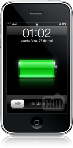 Sinal do iPhone em dBu