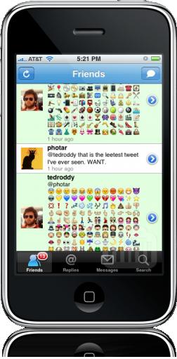 Emojis para Firefox no iPhone