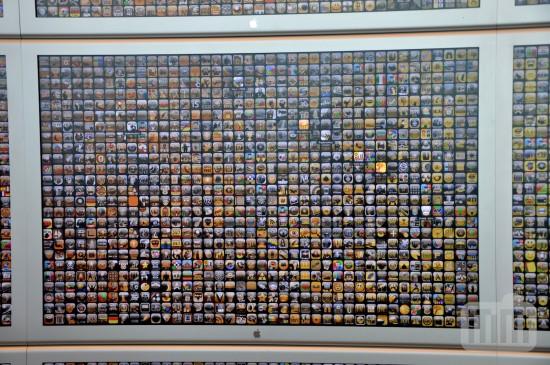 Telão de apps na WWDC '09