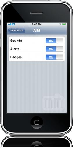 AIM 3.0 para iPhone