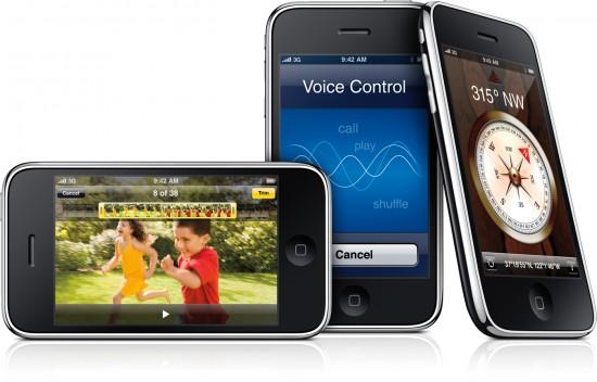iPhones 3GS