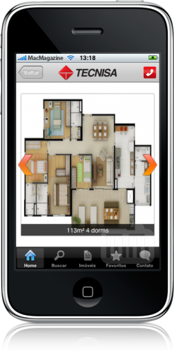 Tecnisa Mobile no iPhone