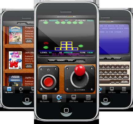 Preview do Commodore 64 para iPhone
