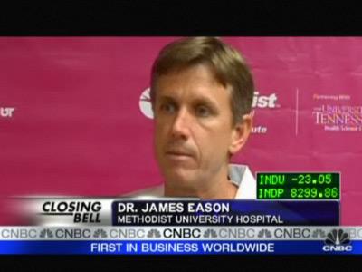 Dr. James Eason para a CNBC