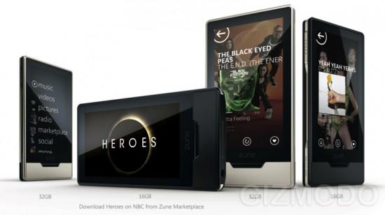 Zune HD marketing