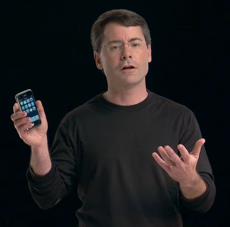 Bob Borchers, o iPhone guy