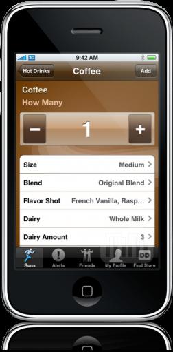 Dunkin' Run App