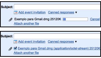 Anexos no Gmail