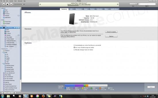iTunes reconhece iPod touch como iPhone
