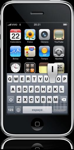 Teclado iPhone FAIL Home Screen