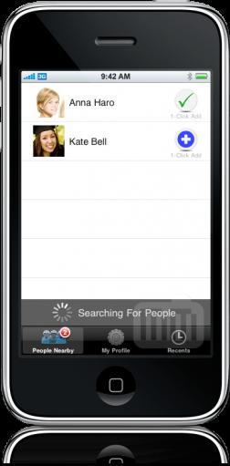 BlueSwap no iPhone