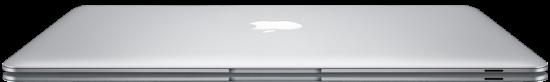 MacBook Air fininho de frente